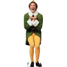 Elf Excited - Movie Elf Cardboard Standup