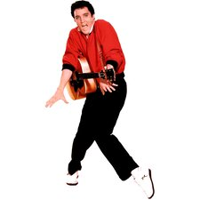 Elvis Presley with Guitar Life-Size Cardboard Stand-Up