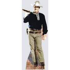Hollywood's Wild West John Wayne - Rifle on Shoulder Cardboard Stand-up