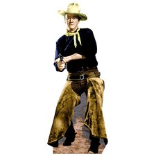 Hollywood's Wild West John Wayne with Chaps Cardboard Stand-up
