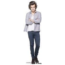 One Direction Harry Life Size Cardboard Cutout