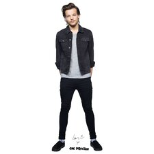 One Direction Louis Life Size Cardboard Cutout