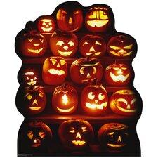 Halloween Pumpkin Group Cardboard Stand-Up