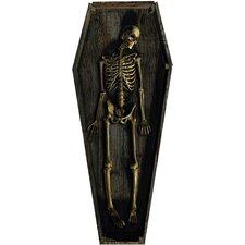 Skeleton Casket Stand-Up