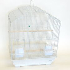 Scallop Shell Top Small  Bird Cage