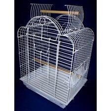 Open Scallop Play Top Bird Cage