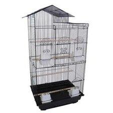 Villa Top Small  Bird Cage with 4 Feeder Doors