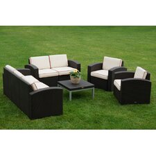 Cielo 5 Piece Deep Seating Group with Cushions (Set of 5)