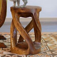 Circular Twist End Table