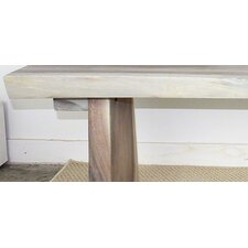 Wood Entryway Bench