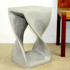 "Strata Twist Stool 20"" Agate Grey"