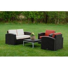 Cielo 4 Piece Deep Seating Group with Cushion