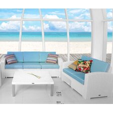 Loggins Cielo Patio 3 Piece Seating Group with Cushion