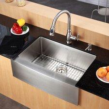 "Farmhouse 33"" x 20.75"" Kitchen Sink"