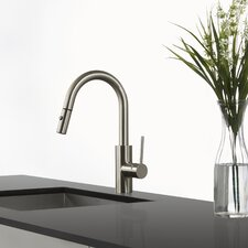 Mateo™ Single Lever Pull Down Kitchen Faucet