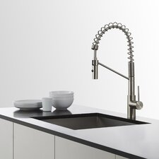 Mateo™ Single Lever Commercial Style Kitchen Faucet