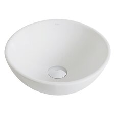 Elavo™ Ceramic Round Vessel Bathroom Sink