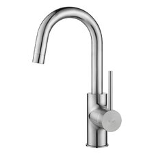 Mateo Pull Down Kitchen Faucet with Bar/Prep Faucet with Soap Dispenser
