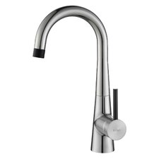 Crespo Flex Commercial Style Kitchen & Bar/Prep Faucet with Soap Dispenser