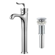 Coda™ Single Lever Vessel Bathroom Faucet with Pop-Up Drain