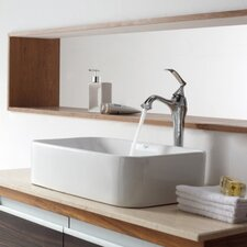 Bathroom Combos Bathroom Sink with Single Handle Single Hole Ventus Faucet