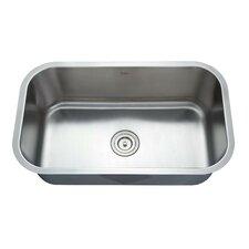 """31.5"""" x 18.38"""" 6 Piece Undermount Single Bowl Kitchen Sink Set"""