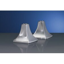 Signature Stainless Steel Candlestick (Set of 2)