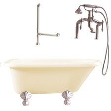 Augusta Roll Top Soaking Bathtub
