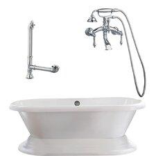 Wescott Dual Soaking Bathtub