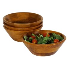 Salad With Style Sea Individual Salad Bowl Set (Set of 4)