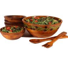 3 Piece Provence Salad Bowl Set