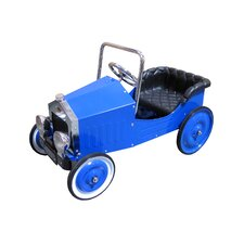 Voiture Classic Pedal Car in Blue