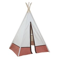 Hideaway Polka Dot 5 Panel 72' Play Teepee
