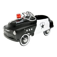 Police Comet Sedan Pedal Car