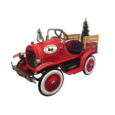 Christmas Tree Pedal Truck