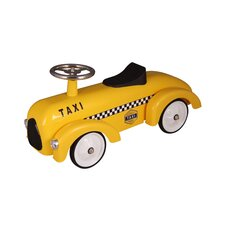 Taxi Cab Push/Scoot Racer