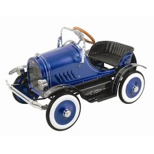 Deluxe Roadster Pedal Car in Blue