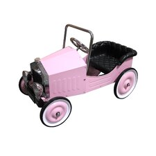 Voiture Classic Pedal Car in Pink