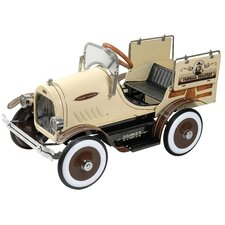 Woody Wagon Pedal Car