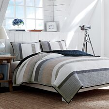 Tideway Cotton Quilted Reversible Bedding Collection