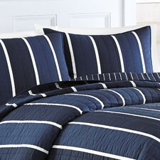 Knots Bay Cotton Quilted Standard Sham