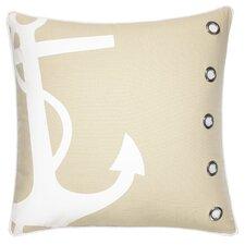Anchor 100% Cotton Throw Pillow