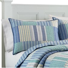 Belle Isle Quilted Standard Sham