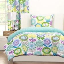 Crayola Pointillist Pansy Comforter Set