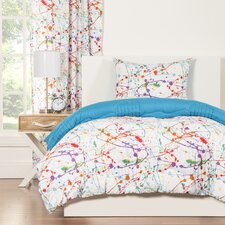 Crayola Splat Comforter Set