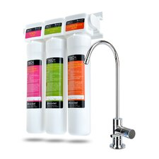 H2O+ Coral Three-Stage Undercounter Water Filter System