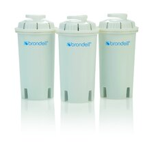 H2O+ Replacement Pitcher Filter (Set of 3)