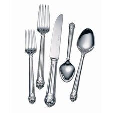 Stainless Flatware Portico Five Piece Place Setting Set