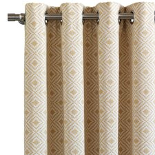 Downey Cyrus Straw Single Curtain Panel