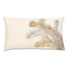 Traditional Peacock Lumbar Pillow